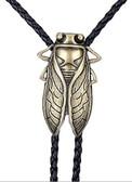 Handmade Black Vintage Cicada Bolo Tie