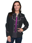 Scully Ladies Embroidered Shirt