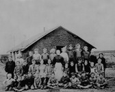 School House and Kids 1880?