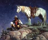 Scoutin' the Canyon Below Artist: Jack Sorenson