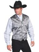 Silver Collar Vest