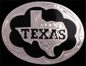 Silver Strike Texas Men's Belt Buckle