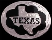 Silver Strike Texas Men's Buckle