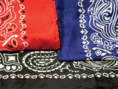 SILK PATTERNED COWBOY BANDANAS