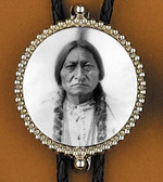 Sitting Bull Bolo Tie