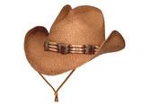 SOFT, CRUSHABLE STRAW Cowboy Hat