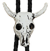 Steer Skull Bolo Tie Made in the USA