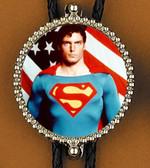 Superman Bolo Tie