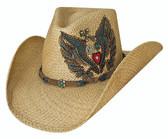TAKE IT EASY Straw Cowboy Hat by Bullhide® Hats.