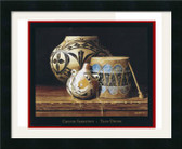 Taos Drum Framed Print XL