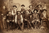 Texas Rangers  Old West Photograph 8x10