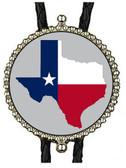 Texas State Logo Bolo Tie