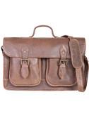 Walnut two gusset workbag