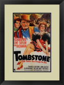 Tombstone 1930s Poster Framed Print
