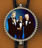 The Rat Pack Sinatra, Davis, Martin Bolo Tie