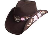 THE ROSE Cowboy Hat