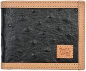 Tony Lama Black Western Bifold Wallet
