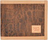 Tony Lama Cognac Western Bifold Wallet