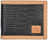 Tony Lama Black Western Bifold Wallet 63366