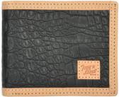 Tony Lama Black Western Bifold Wallet 63371