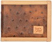 Tony Lama Brown Western Bifold Wallet