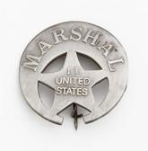 U.S. INDIAN TERRITORY MARSHALL BADGE 41668