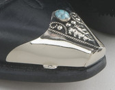 Turquoise Boot Tips