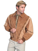 Two Toned Suede Rodeo Jacket By Scully Leather