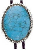 Turquoise (ASBL) Rope Bolo Tie