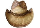Twisted paper Raffia Cowboy Hat