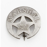 U.S. INDIAN TERRITORY MARSHALL BADGE