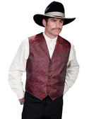 UNDERHANDED OLD WEST GAMBLER DEALER VEST SMALL THRU 4XL