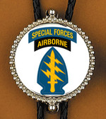 US Army Special Forces Airborne Bolo Tie