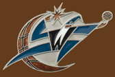 "Washington Wizards NBA Buckle  5"" x 2-1/2"""
