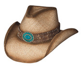 WESTERN SHADOWS  Straw Cowboy Hat by Bullhide® Hats.