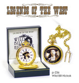 WILD BILL HICKOK POCKET WATCH LIMITED EDITION