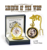 WYATT EARP POCKET WATCH LIMITED EDITION