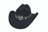 AGAINST ALL ODDS  Felt Cowboy hat by Bullhide® Hats.   Cowboy hat by Bullhide® Hats.