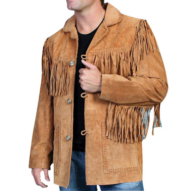 DUKES SUEDE FRINGED JACKET Western  All Suede Coat