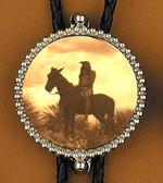 Apache Warrior Bolo Tie