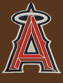 "Anaheim Angels MLB Buckle  2-1/2"" x 3-1/4"""