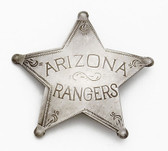 Arizona Range Badge OLD WEST BADGES
