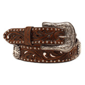 Ariat Womens Lorena Antique Brown Belts