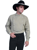 Billy The Kid OLD WEST VICTORIAN STYLE BIB SHIRT