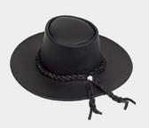 Black Oilskin Cowboy Hat