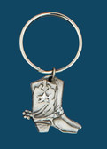 Boot Key Ring, Pewter