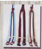 1. STRIPED SUSPENDERS ELASTIC