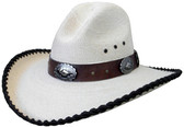 BRONCO 30 MULTI CONCHO Cowboy Hat VERY  COOL