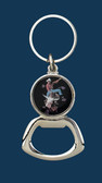 Bullrider Key Ring