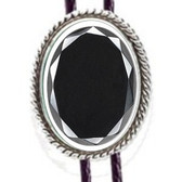 Cabochon, Hemalyke Rope Mounting Bolo Tie